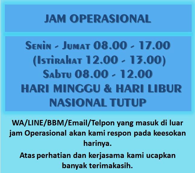 jam operasional SerbaLencanaPin