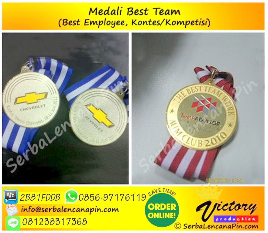 medali best team