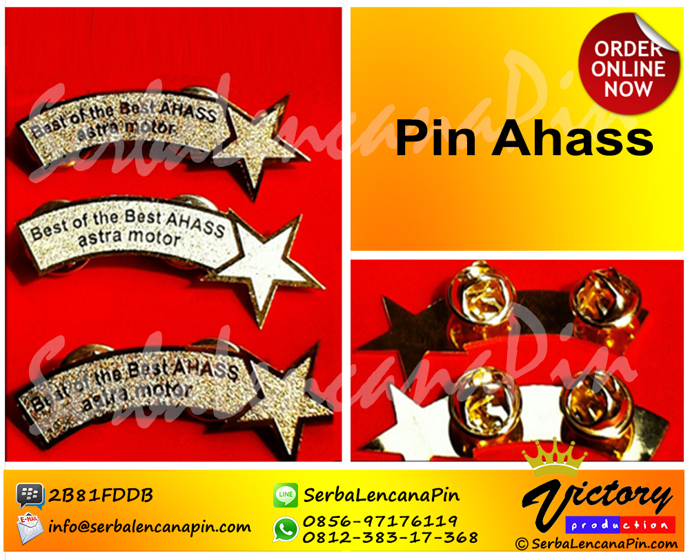 pin penghargaan best of best ahass astra motor1